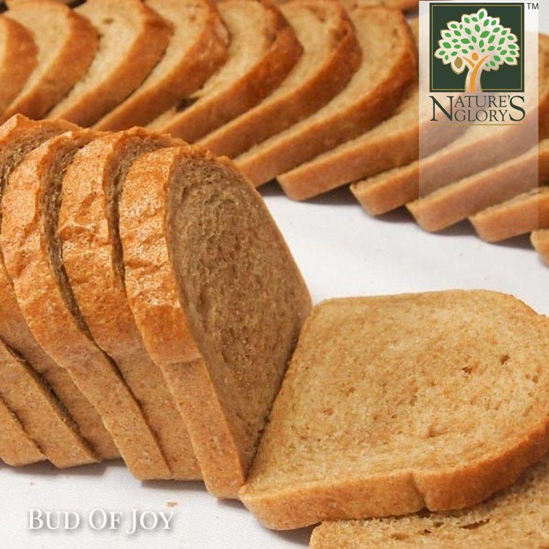 Organic 100% Wholemeal Bread, Bud of Joy