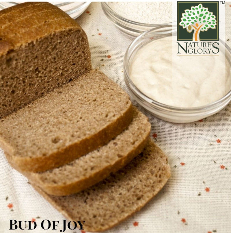 Organic Wholemeal Sourdough Bread, Bud of Joy