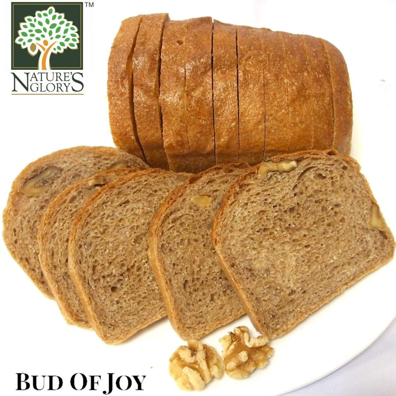 Bud of Joy Organic 100% Wholemeal Walnut  Loaf  Bread (NEED TO PREORDER)