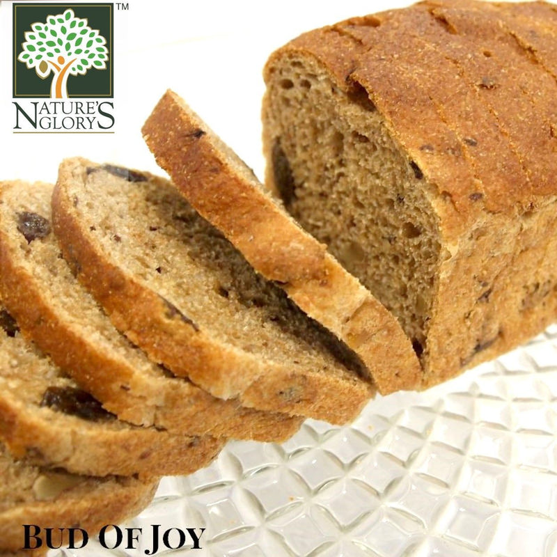 Organic 100% Wholemeal Spelt Bread - Walnut Raisin, Bud of Joy