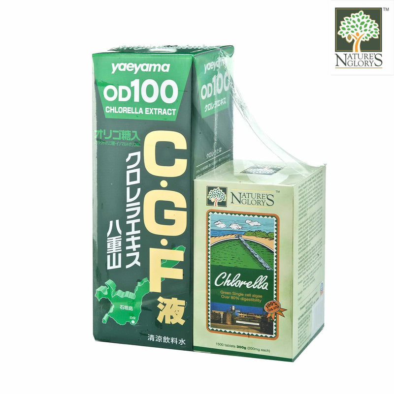 CGF Liquid +1500 tablets Nature's Glory 1set NETT