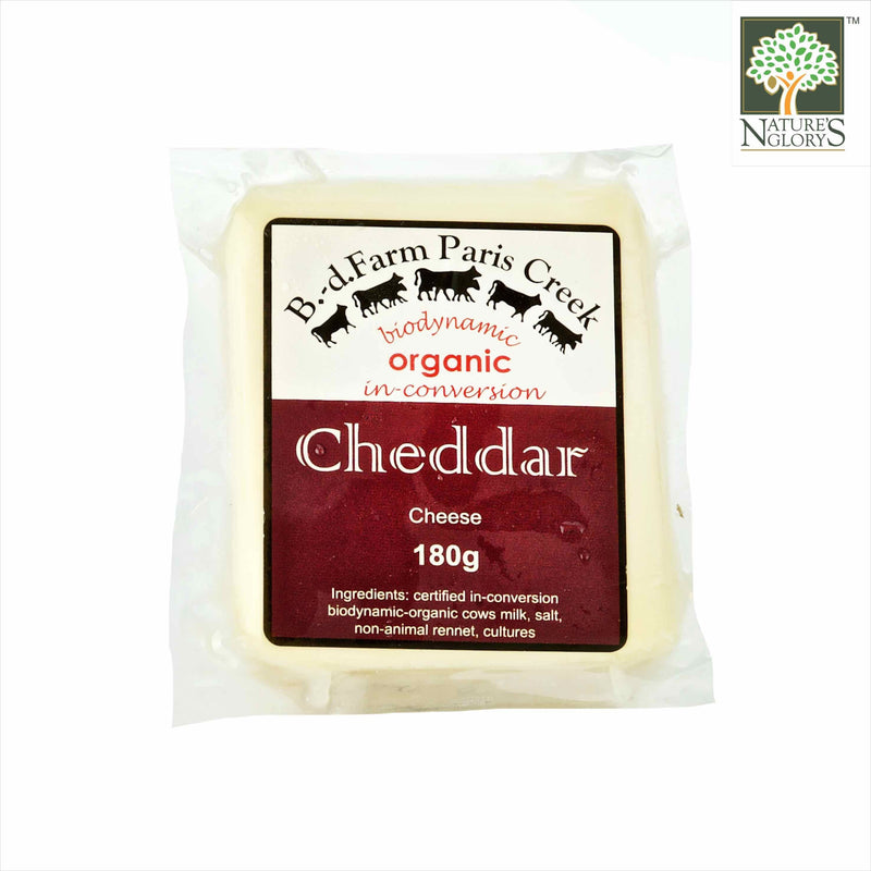 Cheddar Cheese Paris Creek 180g B.D