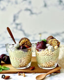 Two Nourishing Cups of Chia Seeds Oats Desserts