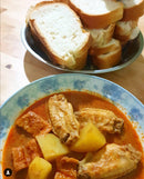 Chicken Curry with Bread