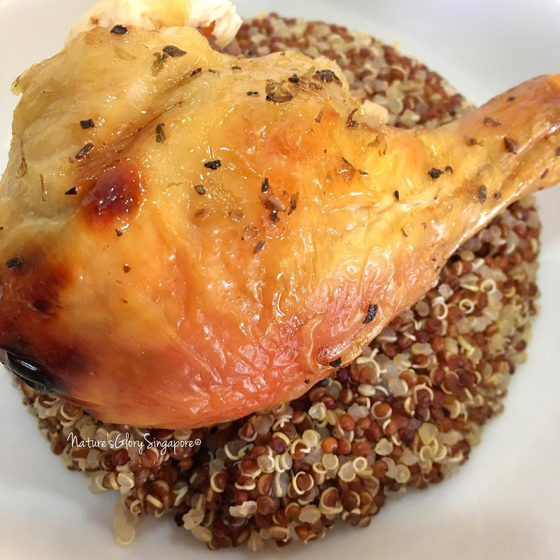 Roasted Chicken with Quinoa
