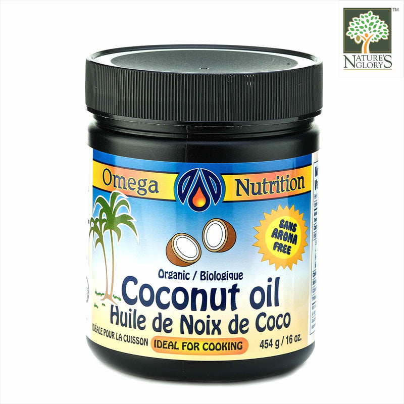 Coconut Oil Omega Nutrition 454g Organic