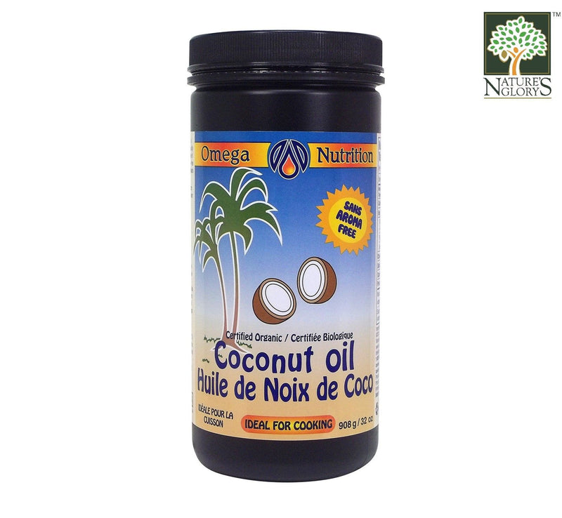 Coconut Oil Omega Nutrition 908g Organic
