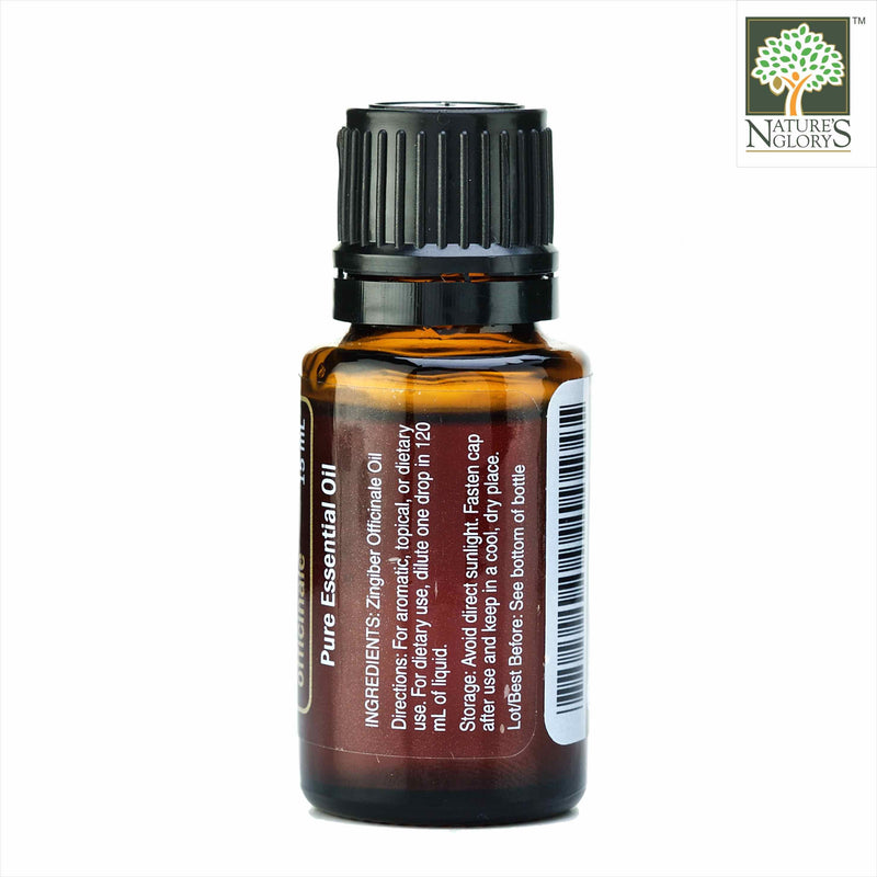 Ginger 15ml (Organic Essential Oil)