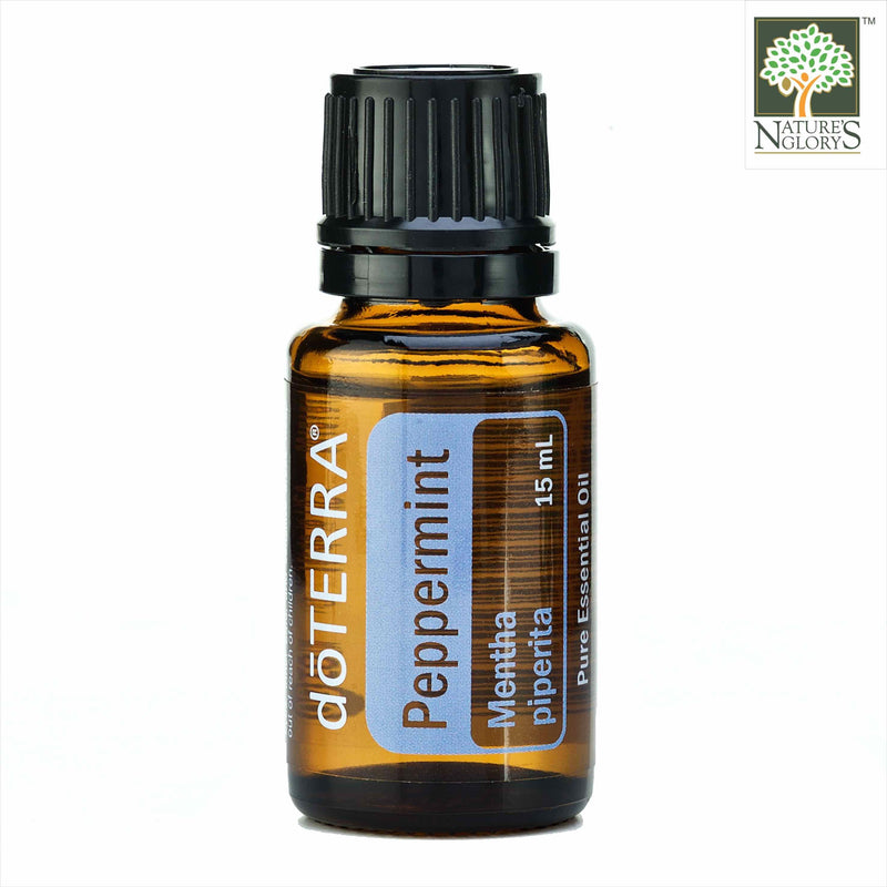 Peppermint Mentha Piperita Organic Essential Oil, doTERRA 15ml