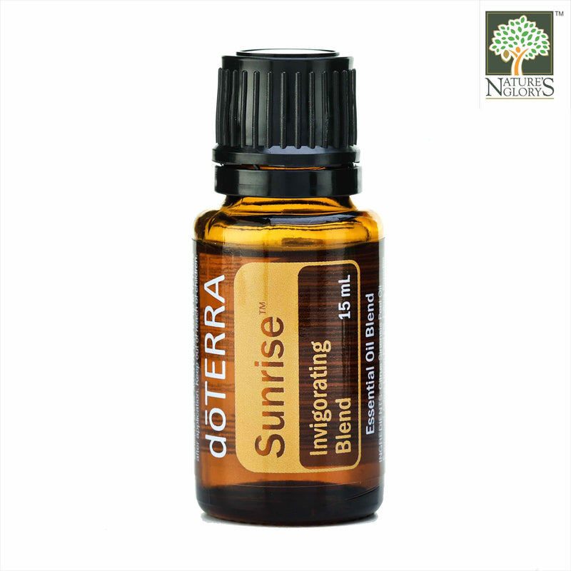Sunrise Invigorating Blend of doTERRA Organic Essential Oils 15ml