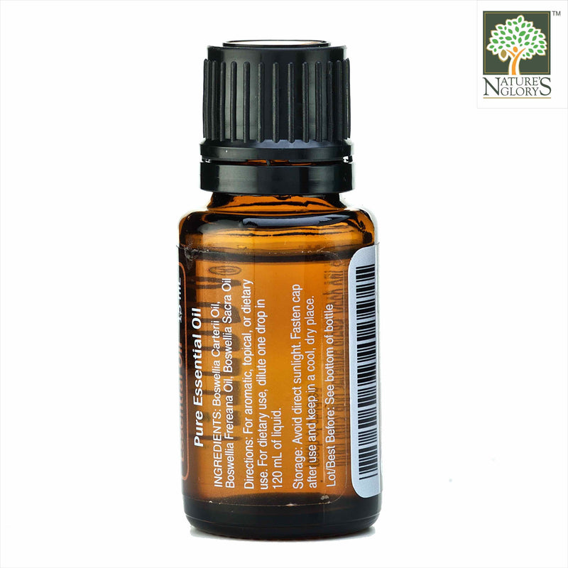 Frankincense Boswellia Essential Oil 15ml(Organic)