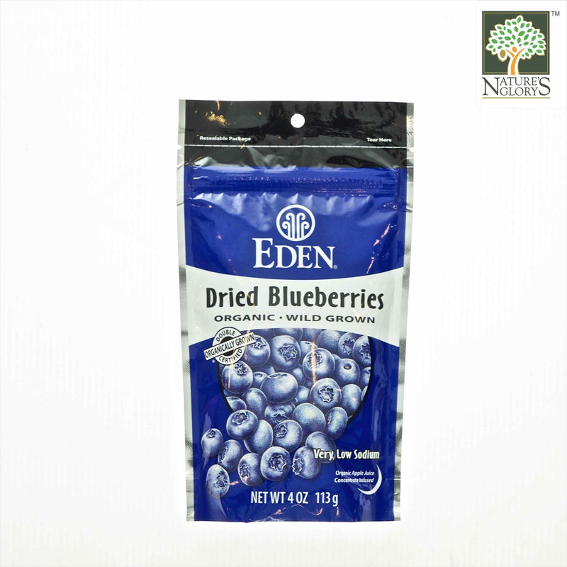 Dried Wild Blueberries Eden 113g Organic