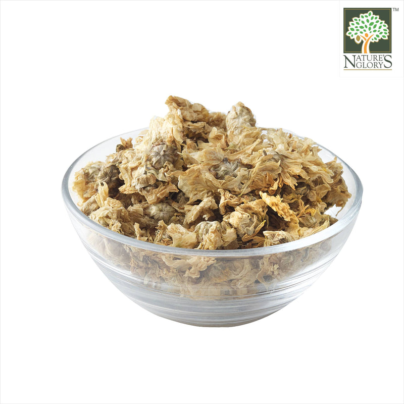 Dried Chrysanthemum (Organically Grown) Nature's Glory In A Bowl