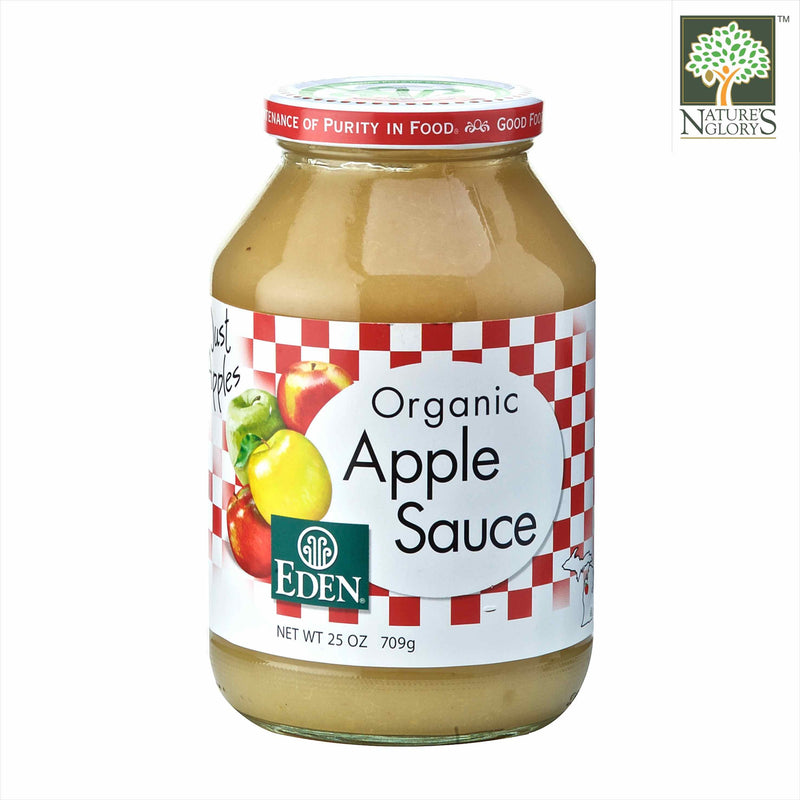 Apple Sauce Eden Organic 709g