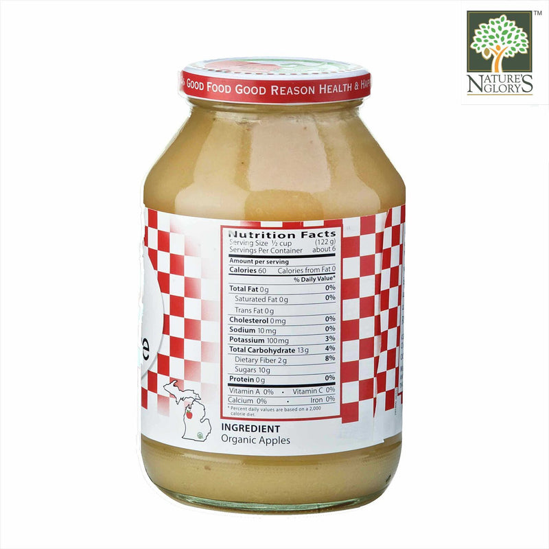 Apple Sauce Eden Organic 709g - View 1