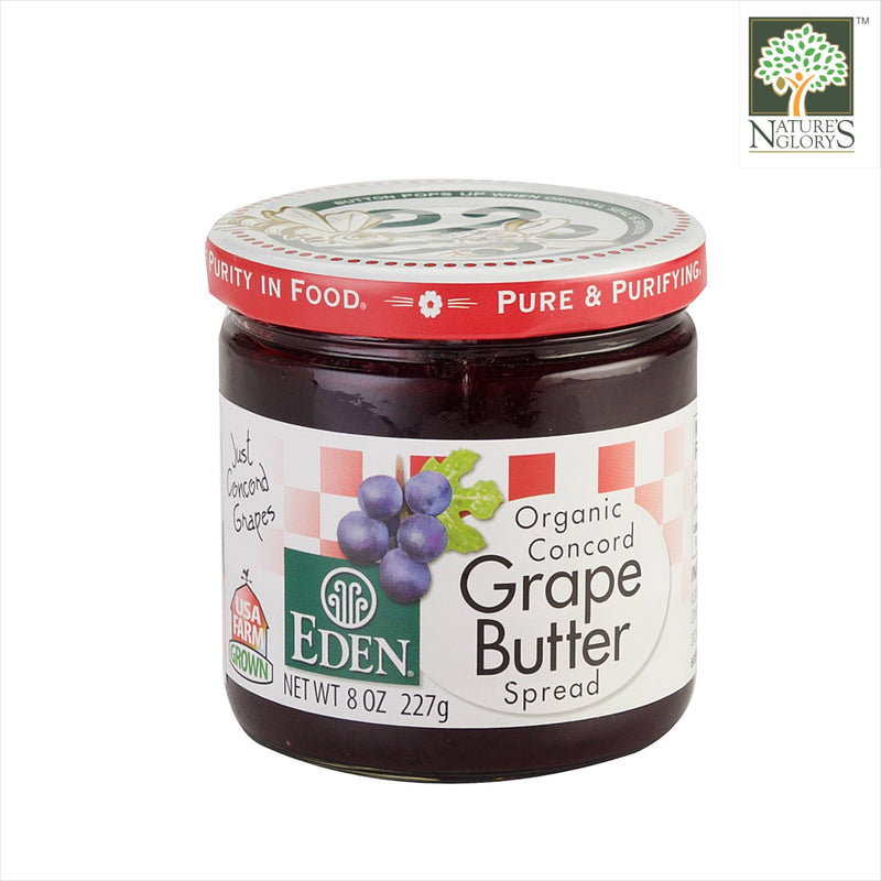 Concord Grape Butter Spread Eden Organic 227g