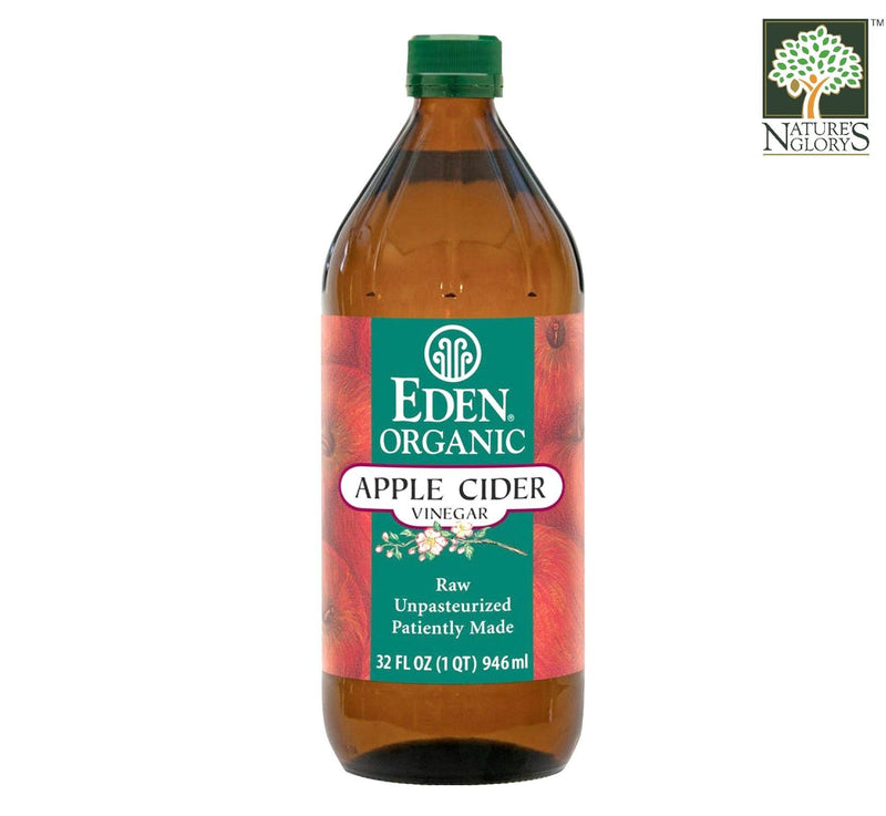 Eden Raw Vinegar Apple Cider Organic 946ml