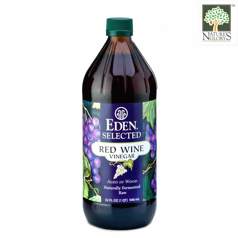 Red Wine Vinegar, Eden Organic 946ml