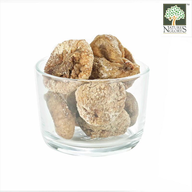 Dried Figs (Unsulphured) Nature's Glory Organic In A Bowl