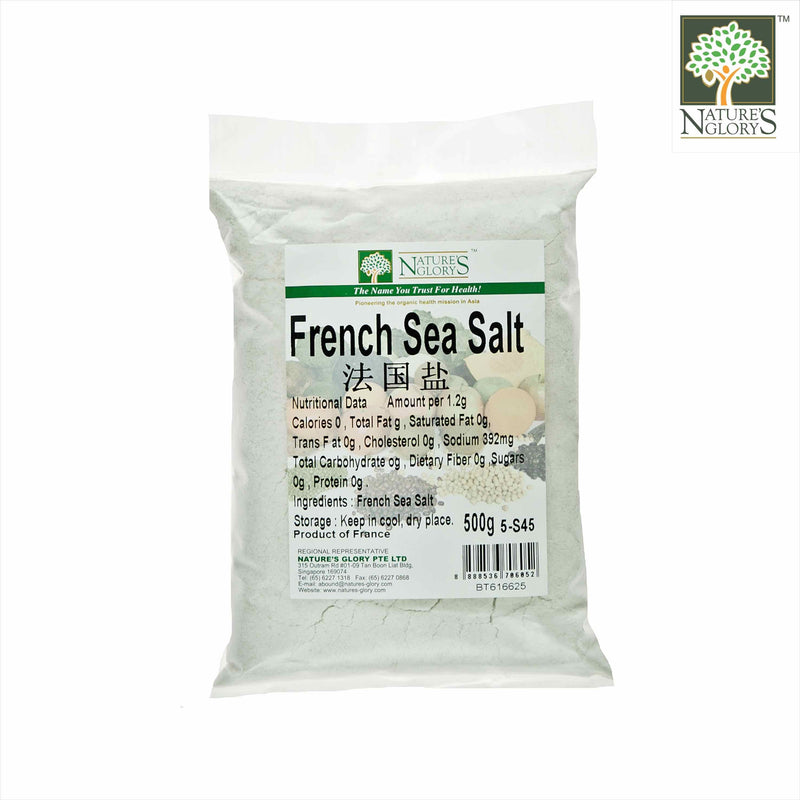 French Sea Salt Nature's Glory 500g