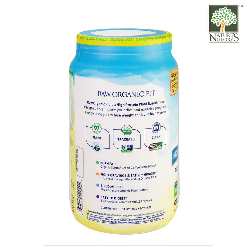 Garden Of Life Raw Organic Fit Protein Powder Original 854g - Product Description View 1