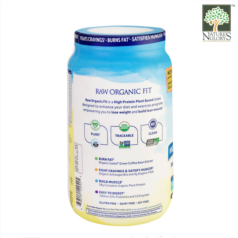 Garden Of Life Raw Organic Fit Protein Powder Vanilla 913g