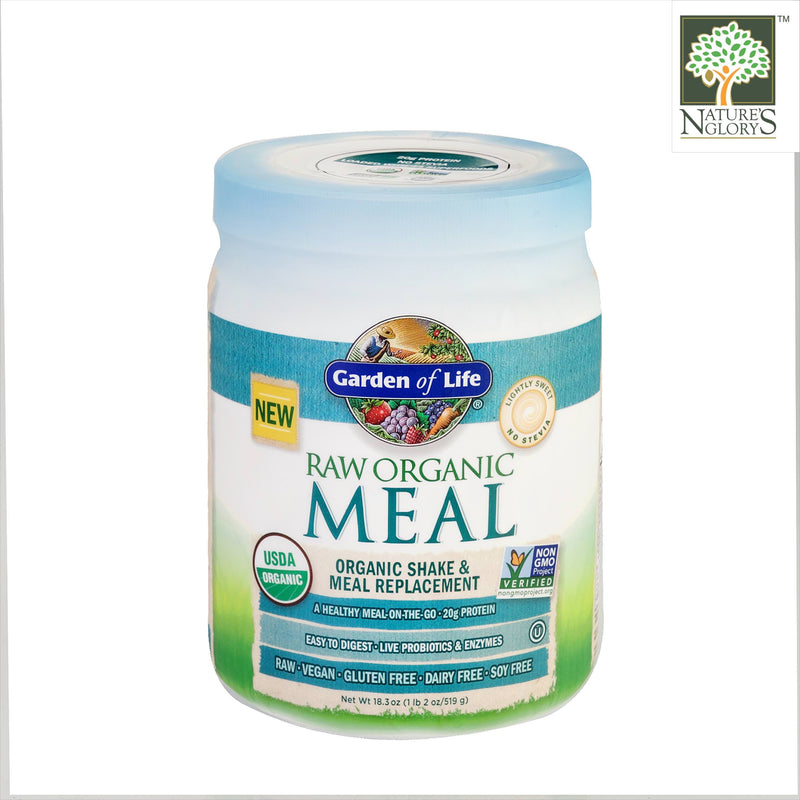 Garden Of Life Raw Organic Meal Shake & Meal Replacement lightly sweet