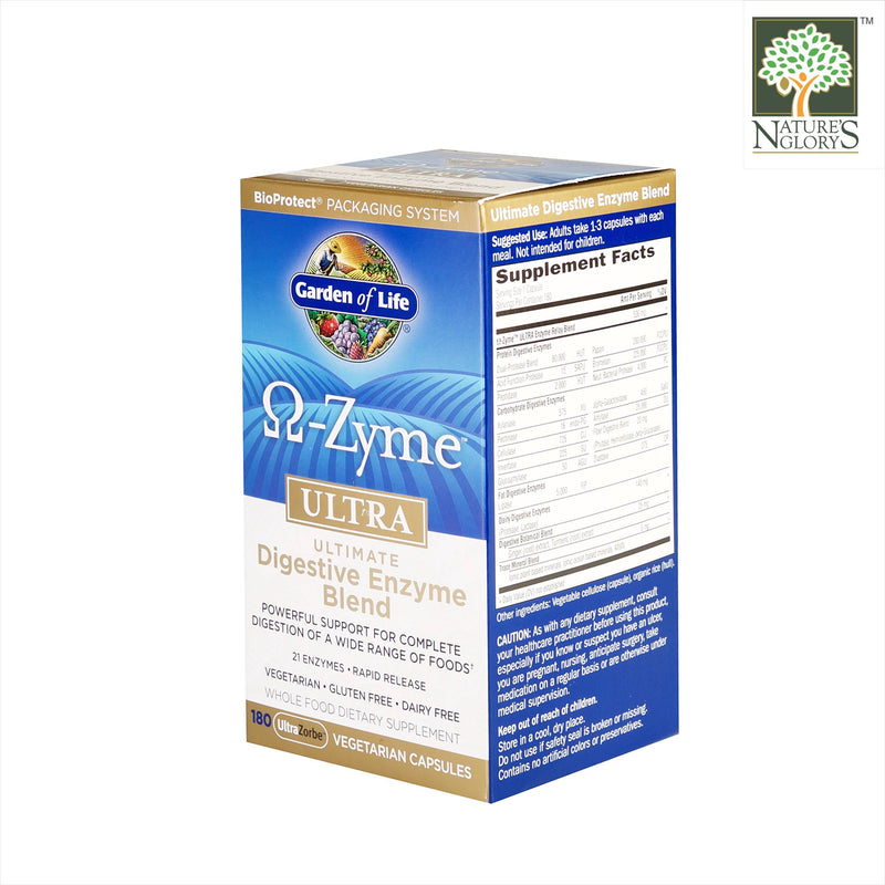 Garden of Life OmegaZyme (Digestive Enzyme Blend) Powder 81g