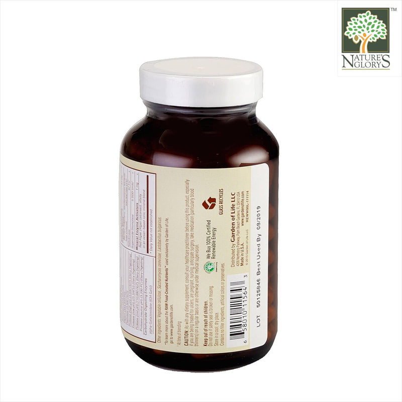 Garden of Life Raw Enzymes Women 50 & Wiser 90 vcaps Organic