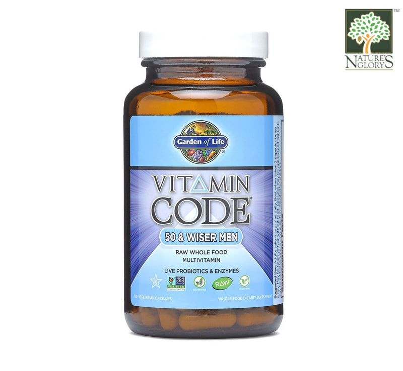 Garden of Life Vitamin Code (50 & Wiser Men)