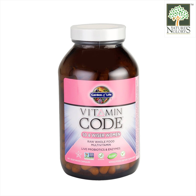 Garden of Life Vitamin Code (50 & Wiser Women)