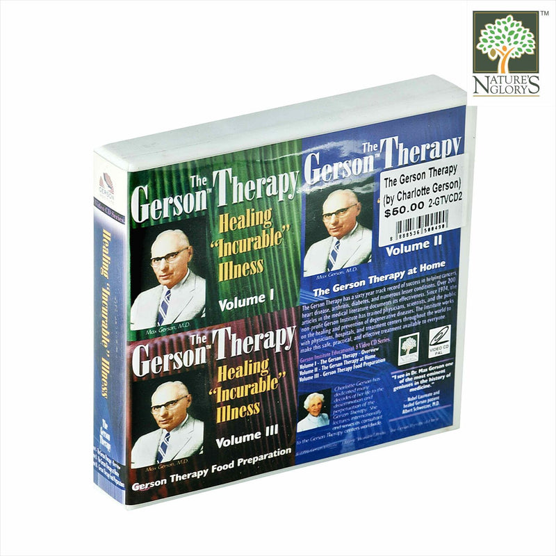 The Gerson Therapy (by Charlotte Gerson) - Healing Incurable Illness - 3 Volumes 8VCD - View  1