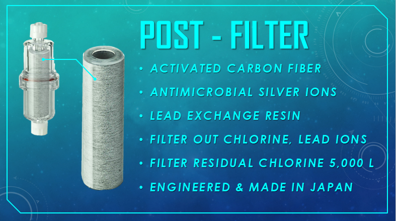 HiFloAM Water® Post-Filter Information