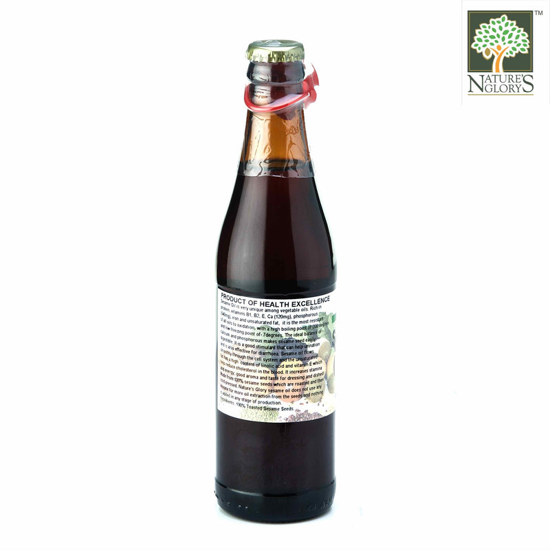 High Quality Toasted Sesame Oil Nature's Glory 330ml - View 2