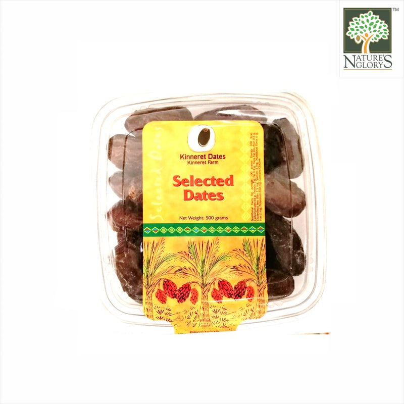 Natural Fresh Premium Dates 500g Kinneret Farm