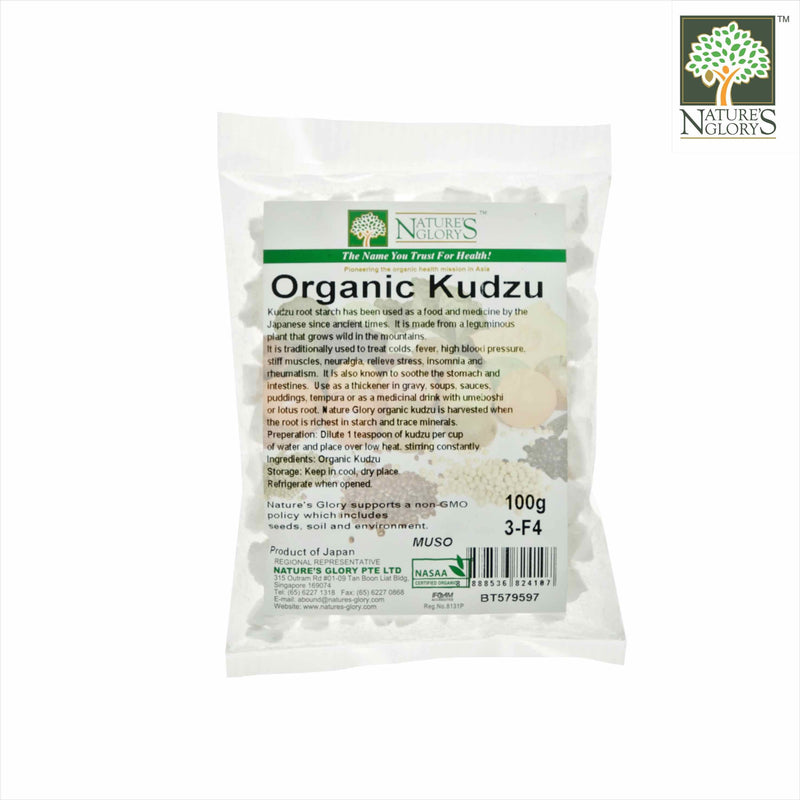 Kudzu (Root Starch) Nature's Glory 100g Organic (NA 8131P)