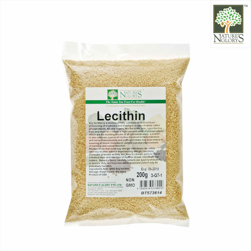 Lecithin Granule Nature's Glory 200g
