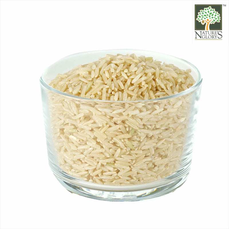 Long Grain Brown Rice Fragrant Nature's Glory Organic (NA 8131P) In A Bowl
