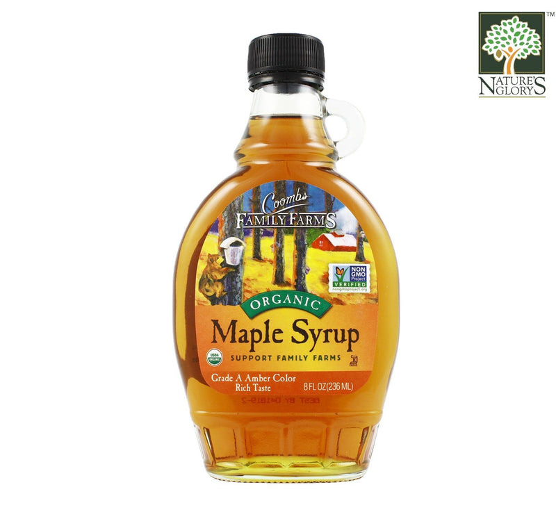 Maple Syrup Coombs FamilyFarms 236ml Organic.