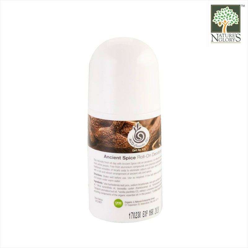 Mienessence Ancient Spice Deodorant 60ml Organic.