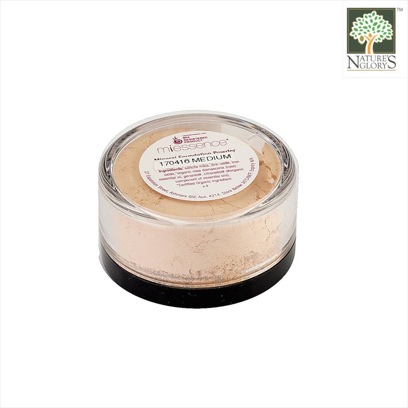 Miessence Mineral Foundation Powder-Med 6g Organic