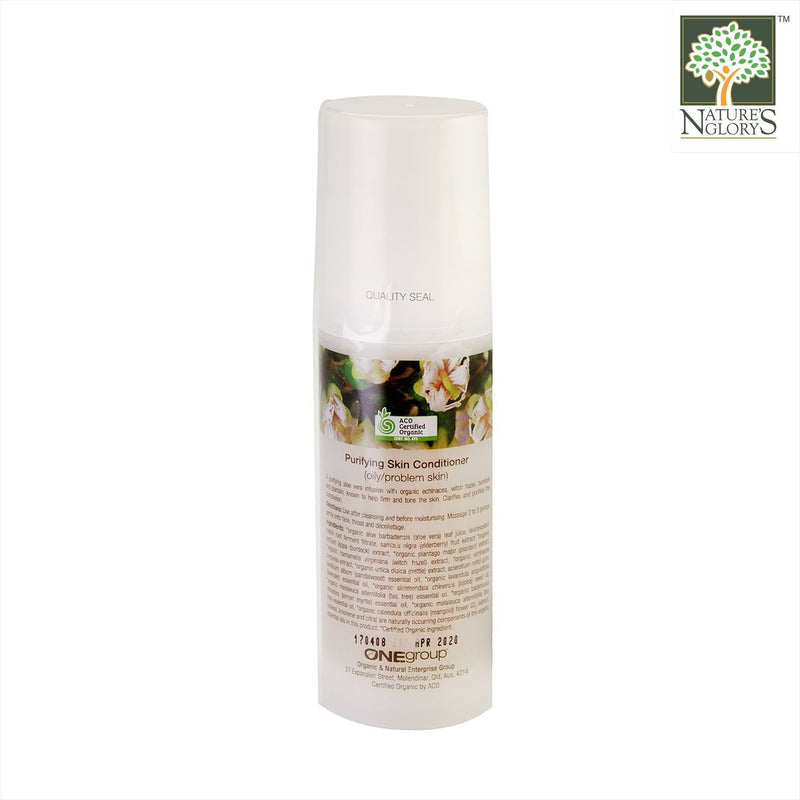 Miessence Purifying Skin Conditioner 100ml Organic.