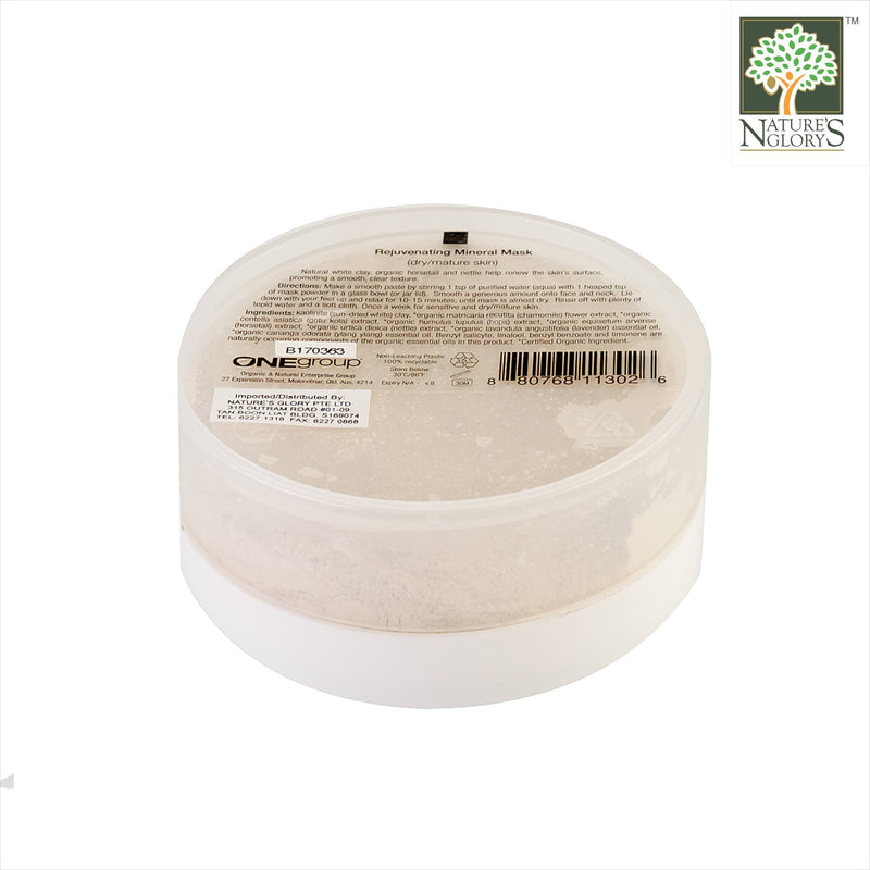 Mienessence Rejuvenating Mineral Mask 45g Organic.