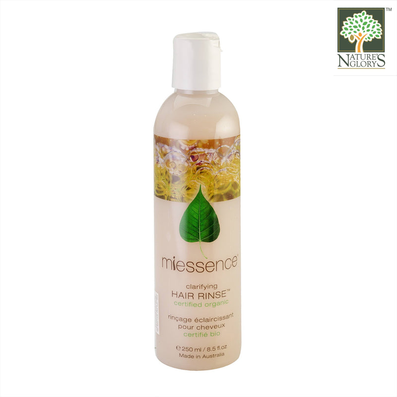 Miessence Clarifying Hair Rinse 250ml Organic.