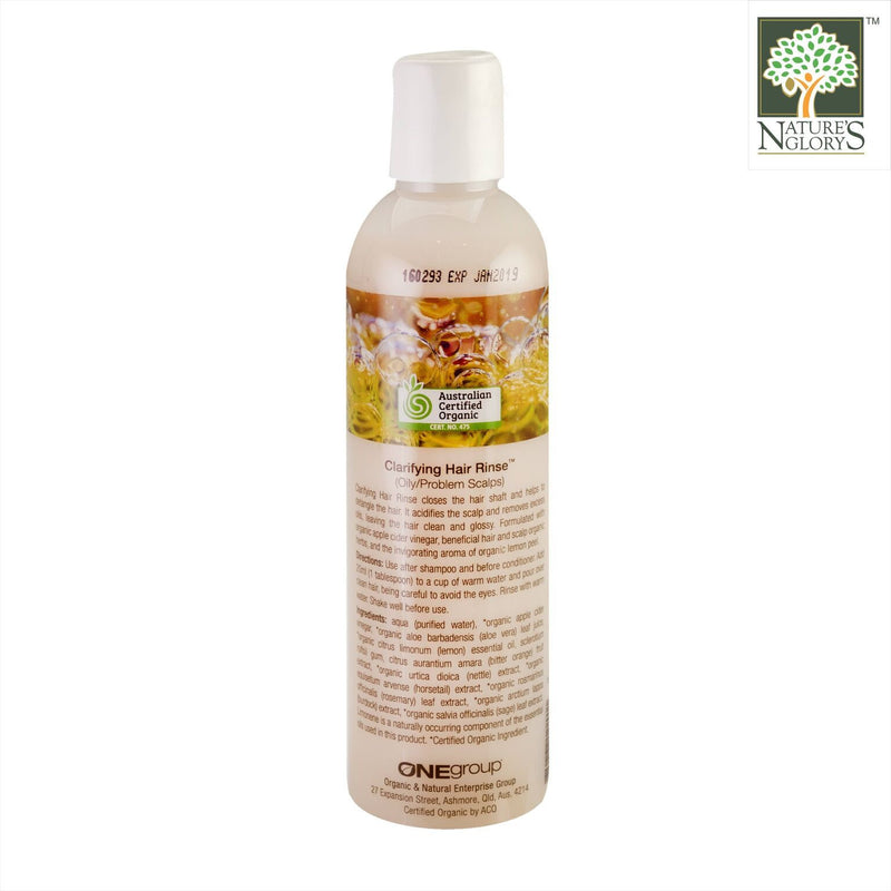 Miessence Clarifying Hair Rinse 250ml OG.