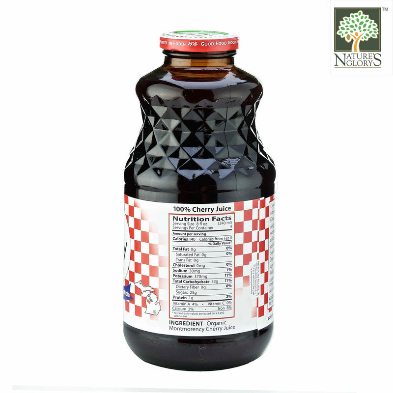 Montmorency Cherry Juice Eden 946ml Organic (Organic TART Cherry Juice) - View 1