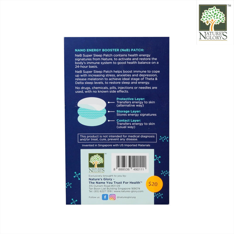 Nano Energy Boosters Super Sleep Line
