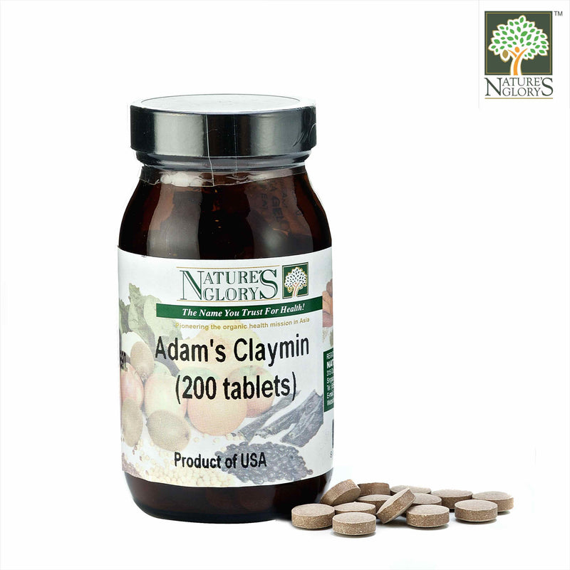 Nature's Glory Adam's Claymin Tablet 200tabs