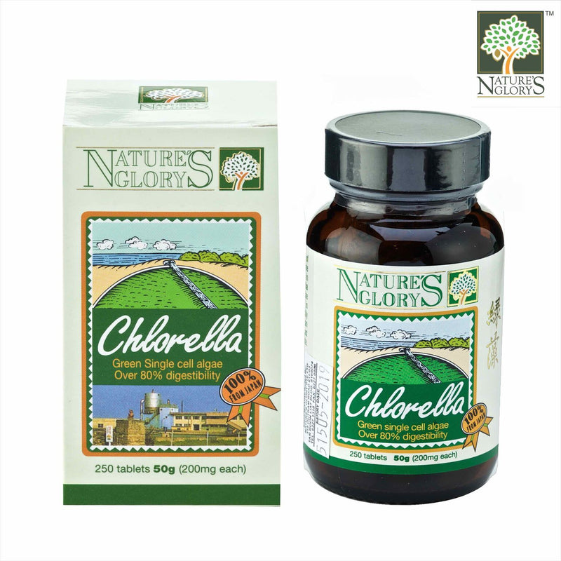 Nature's Glory Chlorella 250tab