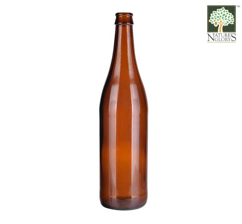 Nature's Glory Empty Amber Bottle (Large) 1pc